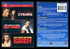 New Sealed VAN DAMME Cyborg Death Warrant Double Impact 3 DVD Set 2012