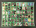 1977 Topps STAR WARS Green Series4 Uncut Sheet w C-3PO Error Card-comp set of 66