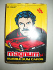 1983 MAGNUM P.I. WAX BOX (36 CARD PACKS) DONRUSS