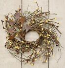 Twig Wreath with Rusty Stars 10