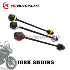 For Kawasaki Z900 Ninja 1000 SX Front Wheel Axle Fork Sliders Crash Protector