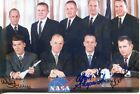 SHEPARD SCHIRRA SLAYTON Mercury  Apollo Astronauts Color Photo Autographed