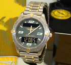 BREITLING 40mm TITANIUM & 18K GOLD MULTI-FUNCTION AEROSPACE WATCH BOX & PAPERS