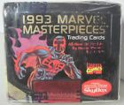 FACTORY SEALED 1993 MARVEL MASTERPIECES TRADING CARD BOX SKYBOX FINAL EDITION
