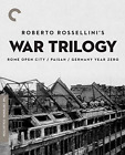 Roberto Rossellinis War Trilogy Rome Open City Paisan Germany Year Zero The