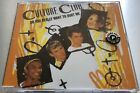 CULTURE CLUB Do You Really Want To Hurt Me *RARE 1992 FRENCH PROMO CD Boy George