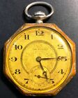 Vintage The Royal Swiss Made 7 Jewel Pocket Watch - Functional - Hard to Find