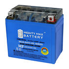 Mighty Max YTX5L-BS GEL Battery Replaces Kymco Top Boy On Road 50 1997-2000