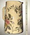 Antique 1800s MUSTERSCHUTZ Pitcher Stein Vase Porcelain Excellent Condition RARE