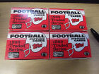 LOT OF (4) 1989 TOPPS TRADED FOOTBALL FACTORY SETS BARRY SANDERS-TROY AIKMAN RC'