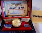 Vintage WALTHAM Self Winding Automatic 21 Jewel GOLD FILLED MEN'S WATCH in Case