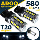 580 W21 5w T20 Error Free Cree Smd Drl Sidelight 7443 Super White Hid Bulbs 12v