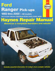 HAYNES FORD RANGER REPAIR MANUAL 1983 thru 2000 MAZDA B2300 B2500 B3000 B4000