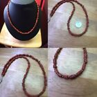 Wonderful Old Coral Beads Necklace with beads Brase wonderful Necklace From Af
