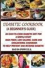 Diabetic Cookbook  A Beginners Guide Paperback by Powell Davis ISBN 1505