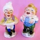 NEAT ROYALS  ROYAL CHEF  ROYAL SCRIBE Salt and Pepper Shakers 1921 41RARE