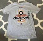 Houston Astros WORLD SERIES T-SHIRT SIZE YOUTH 10-12 New Champions 2017 MLB NWT