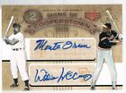 2005 Upper Deck WILLIE McCOVEY MONTE IRVIN Signs of Cooperstown Autograph 20