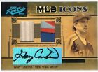 2005 GARY CARTER Prime Cuts MLB Icons Signature Material Autograph Patch Bat 10