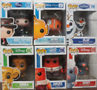 Lot of 6 Funko POP! Disney Figures (Mary Poppins Nemo Olaf Simba Anger Remy)