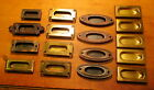 Lot of 17 Vintage Window Sash lift Pulls Hardware