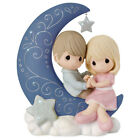 Precious Moments I Love You to the Moon and Back Figurine for valentines day