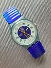 Swatch Swiss Master, 1993, GN130, Originals, Gent, mit blauem Flexband