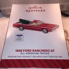 Hallmark 2014 20th All American Trucks 1968 Ford Ranchero GT NIB Mint
