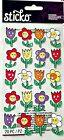 Sticko Scrapbooking Stickers Teen Flowers Tulips Posey Faces Repeats Spring