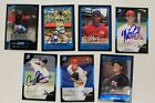 2006 -07 Topps Bowman Chrome Autographed Card Lot -7 OR PICK INDIVIDUAL CARD