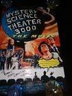 Mystery Science Theater 3000 Movie POSTER Hand SIGNED Trace Beaulieu AUTOGRAPH