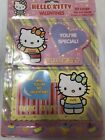 New Hello Kitty 20 Large Die Cut Valentines Cards Sanrio 2002 Retro Rare