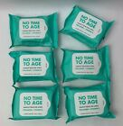 Forever 21 X K BEAUTY Korean No Time To Age Makeup Remover 30 Wipes Lot of 6
