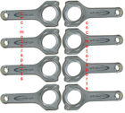 Sb Chevy 350 383 Callies Compstar H Beam Connecting Rods Arp2000 5.7 Length