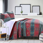 Twin Quilt Set Mystic Native Motif Boho Chic Childrens Bedding