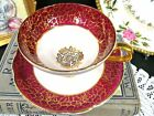 Gold Gilt Teacup Footed Gold