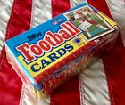 1989 TOPPS FOOTBALL FACTORY SEALED CARD SET OF 396 CARDS IRVIN WOODSON THOMAS RC