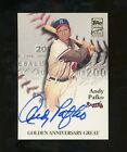 Andy Pafko Cards and Autograph Memorabilia Guide 7