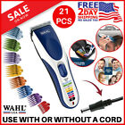 Wahl Clipper Color Pro Cordless Hair Clippers Rechargeable Professional Trimmer