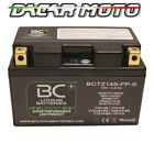 MOTORCYCLE BATTERY LITHIUM HYOSUNGGT 125 R SUPERSPORT2006 07 2008 BCTZ14S-FP-S