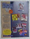1997 Score Basketball Rookies Sell Sheet (NO CARDS) Michael Jordan, Larry Bird +