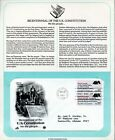 First Day of Issue Covers 2 Bicentennial of the US Constitution CM574