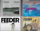 FEEDER 6 CDS 1 DVD YESTERDAY ECHO PARK JAPAN COMFORT SENSES SINGLES SILENT CRY