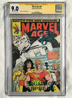 MARVEL AGE #82 (1989) CGC 9.0 SS (LIEFELD) - 1st app of CABLE! Pre-dates NM #87