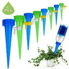 Garden Plant Self Watering Spikes Stakes Water Drop Device with Control Valve US