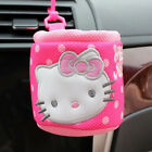 Cute Hello Kitty Set Car Accessories Steering Wheel Cover For Woman Pink Cartoon