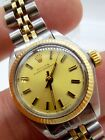 Vintage 1979 Ladies Rolex 6719 Oyster Perpetual Watch 14K/Steel Automatic Watch