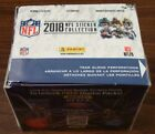 2018 PANINI NFL STICKERS BOX 50 PACKS WITH 5 STICKERS PER PACK BRAND NEW