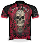 Primal Wear Old Fart Skull Skeleton Cycling Jersey Mens with DeFeet Socks