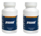 (2pack)PROSVENT Natural Prostate Health Supplement 1 month supply 120 softgels